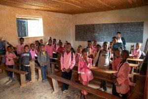 Szkoła w Ampananina
